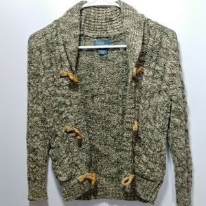 Ralph Lauren Polo 6 Cardigan Sweater Boys Toggle